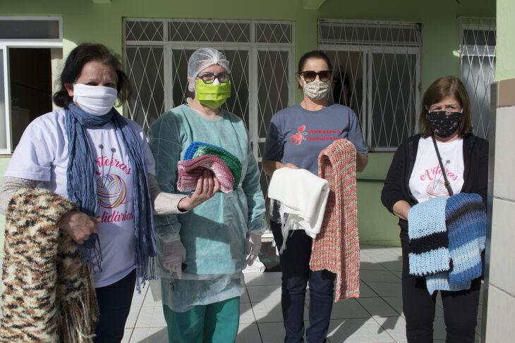 O grupo também realiza doações para Instituições de Longa Permanência para Idosos (Divulgação/ON)