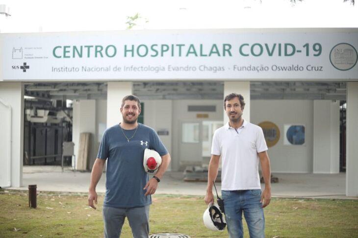 Renan Zanella Lorenzoni (esquerda) se formou em 2011 em Engenharia Mecânica na UPF. Foto: Divulgação