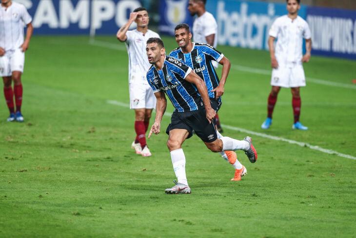 Diego Souza marcou o gol no jogo de estreia (Foto – Lucas Uebel - GFBPA)