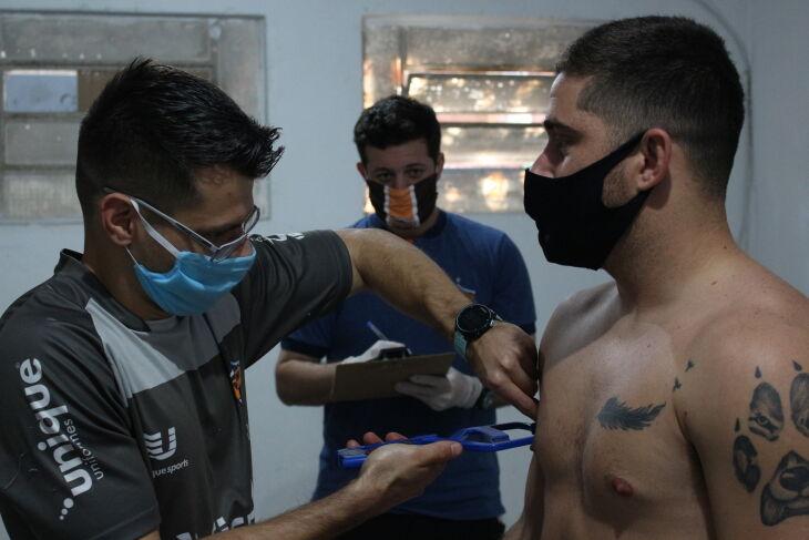 Testes: Fernando Matzenbacher e Matheus Gaúcho (Foto - Matheus Moraes/ PFF)