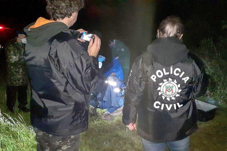 O corpo da jovem foi encontrado na madrugada desta segunda-feira (Fotos: Clic Soledade / Divulgação)