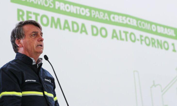 O presidente ainda disse que o auxílio emergencial será estendido até dezembro (Foto: Marcos Correa/PF)