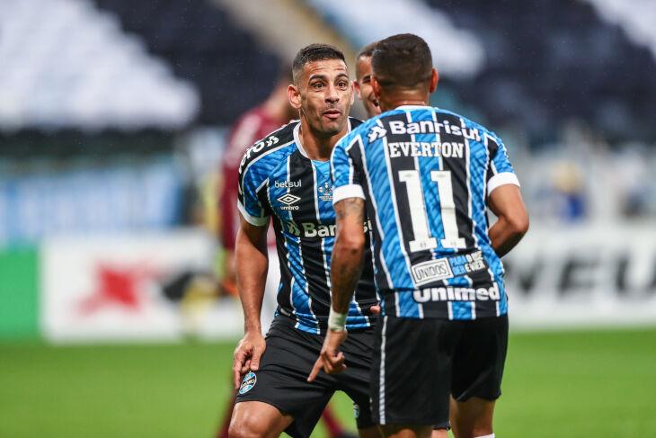 Diego Souza marcou na Arena - (Lucas Uebel-GFBPA)
