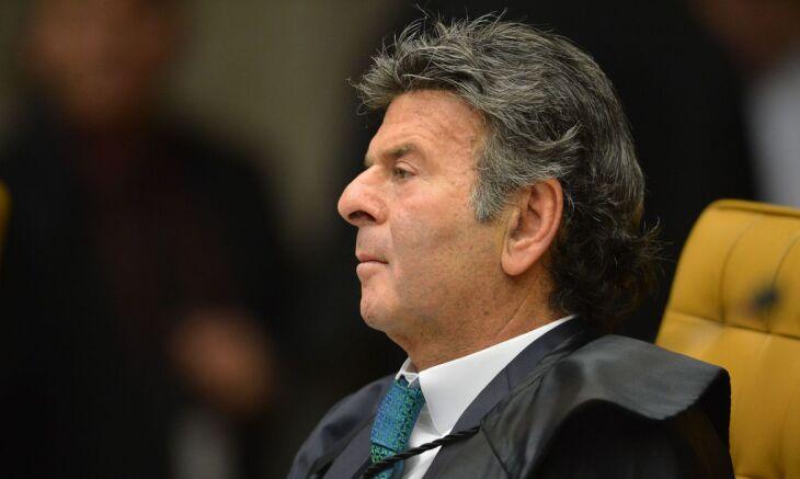 Fux tomou posse como presidente do STF na quinta-feira (10) (Foto: Fabio Rodrigues Pozzebom/Agência Brasil)