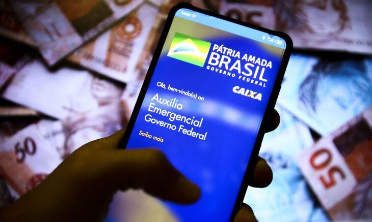 O auxílio emergencial residual no valor de R$ 300 será pago em até quatro parcelas mensais (Foto: Marcelo Camargo/Agência Brasil)