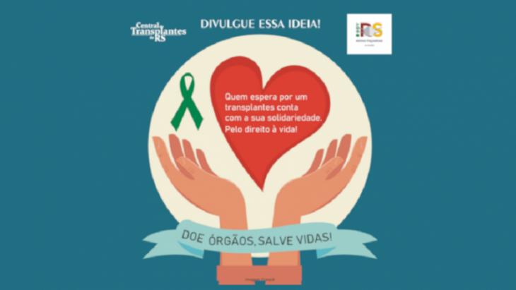 Mais informações sobre doação de órgãos e transplantes nosite da SES (Foto: Reprodução)
