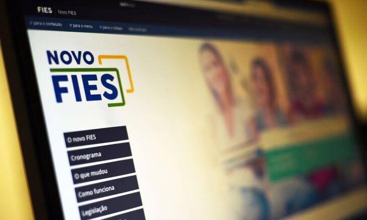 As inscrições devem ser feitas por meio da página do Fies (Foto: Marcello Casal Jr./Agência Brasil)