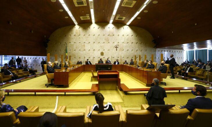 A proposta de mudança foi feita pelo presidente da Corte, ministro Luiz Fux, durante sessão administrativa (Foto: Marcelo Camargo/Agência Brasil)