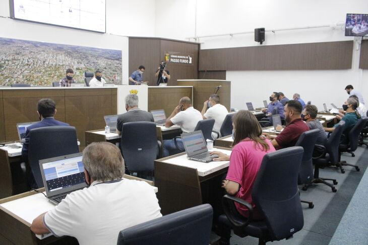 O calendário de tramitação foi aprovado nesta quarta-feira (07) (Foto: Comunicação / CMPF)