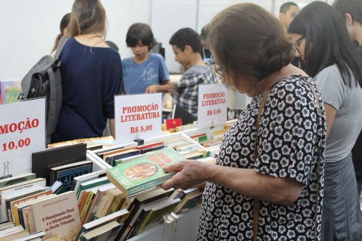 O evento contará com a comercialização de livros e atividades virtuais (Foto: Arquivo/ON)