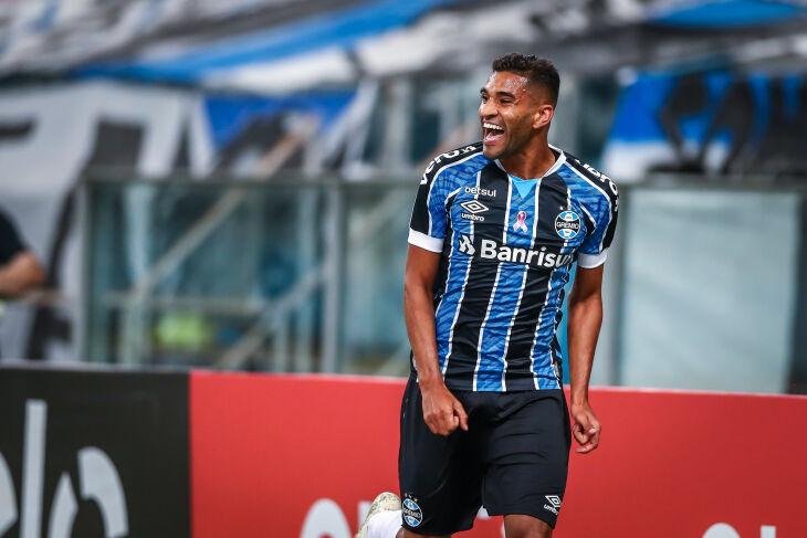 Isaque marcou o gol da partida - Foto: Lucas Uebel-GFBPA