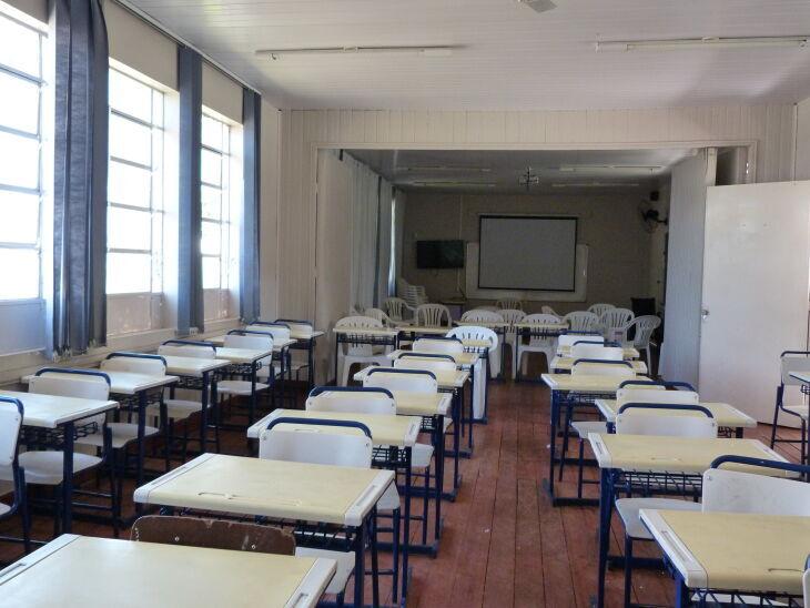A Seduc reforça que as instituições de ensino que ainda não reiniciaram as aulas presenciais devem permanecer abertas em regime de plantão para receber os EPIs (Foto: Arquivo/ON)