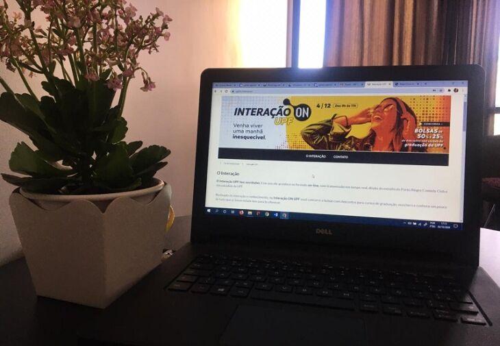 Interação ON UPF reunirá estudantes de forma on-line para conhecer os cursos da Universidade (Foto: Silvia Brugnera)