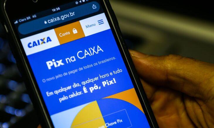 O Pix funcionará em horários determinados para um grupo de 1% a 5% dos clientes (Foto: Marcello Casal/Agência Brasil)