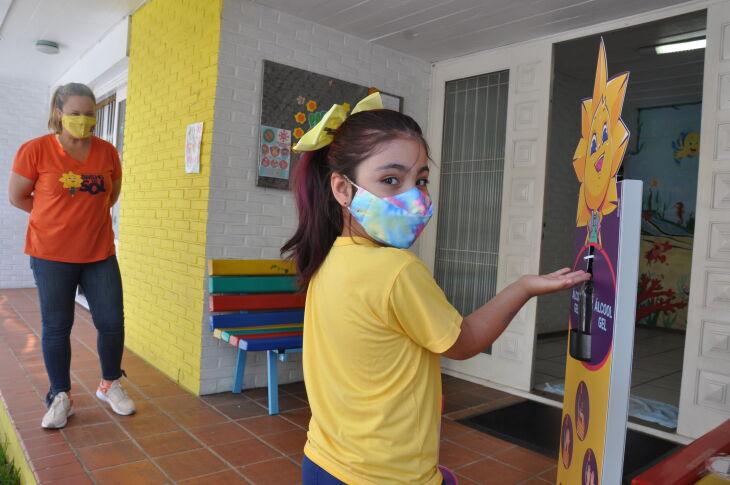 Abertura das escolas de educação infantil, com até 200 estudantes, integra a primeira etapa do Plano de Retorno Seguro dos educandários da cidade (Foto: Gerson Lopes/ON)
