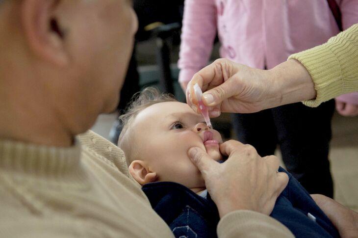 A cobertura vacinal contra a poliomielite chegou a 52,10% até o dia 28 de outubro (Foto: Camila Domingues/ Palácio Piratini)