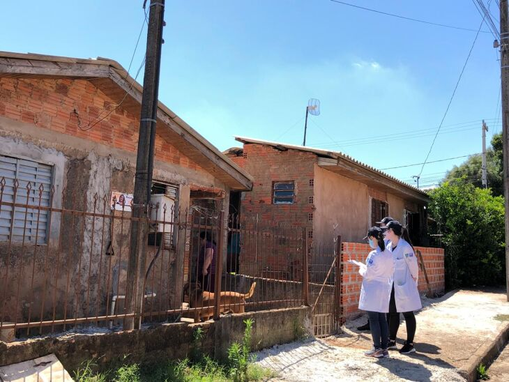 Mais de 2 mil casas receberam a visita dos integrantes da Rede (Foto: Divulgação)