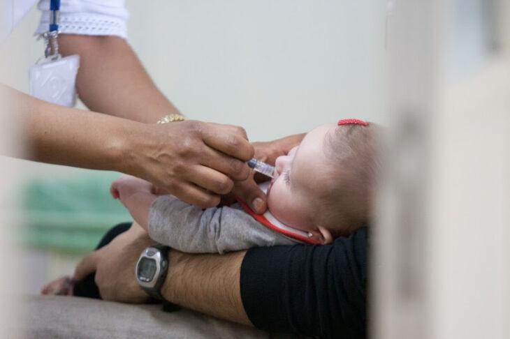 Meta é vacinar, no mínimo, 95% das crianças de até cinco anos de idade contra a poliomielite (Foto: Divulgação)