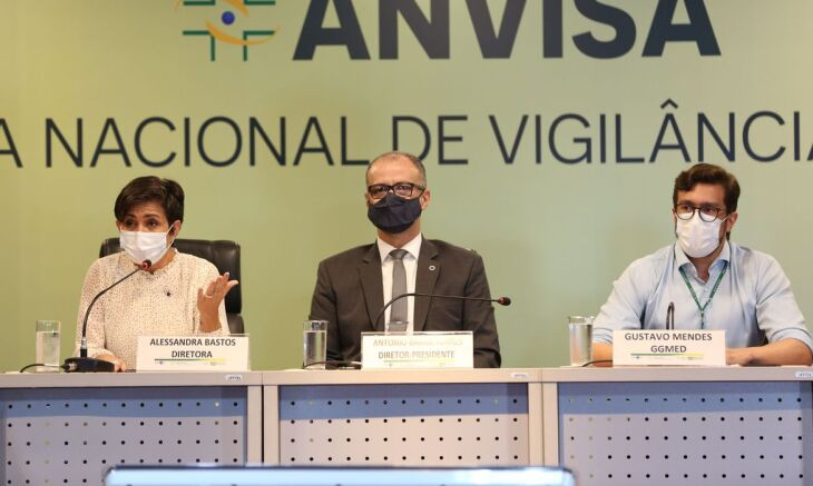 A agência realizou uma coletiva de imprensa nesta terça-feira (10) (Foto: Fabio Rodrigues Pozzebom/Agência Brasil)