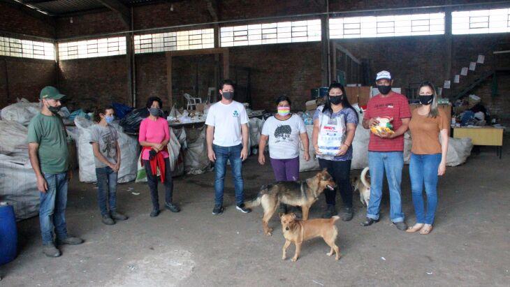 O Desafio 1+1 foi desenvolvido pensando no auxílio às muitas famílias de recicladores (Fotos: Divulgação BSBIOS)