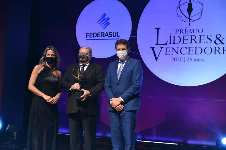 Prêmio foi entregue na terça-feira (Foto: Vinicius Reis/Agência ALRS)
