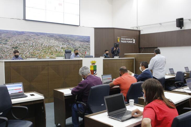 Passagem permitirá acesso ao Hospital de Clínicas de Passo Fundo sobre o nível da rua Silva Jardim (Foto: Comunicação/CMPF)