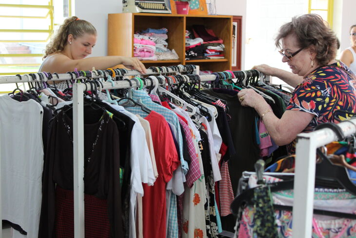 Com peças novas e usadas, os produtos têm preços acessíveis (Foto: Arquivo Apae)