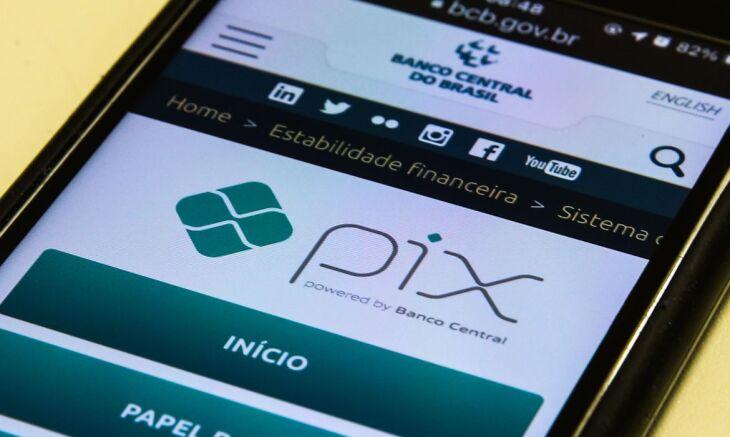 O Pix deve ser gratuito para pessoas físicas nas operações de transferência e de compra (Foto: Marcello Casal Jr./Agência Brasil)