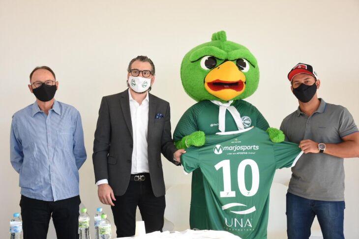 Mário Tito, Guto Ghion, o Periquito e Wagner Rufino = Foto – Alex Borgmann-SCG