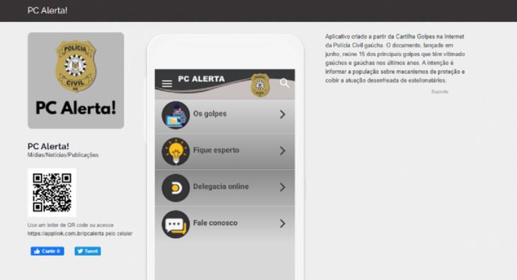 Com o aplicativo, será possível acessar dicas sobre os principais crimes cometidos por estelionatários (Imagem: Divulgação)