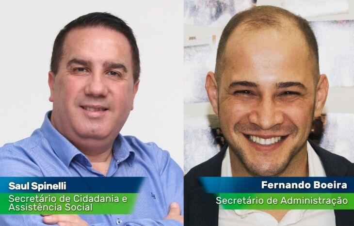Os secretários assumem os cargos no próximo ano (Foto: Divulgação)