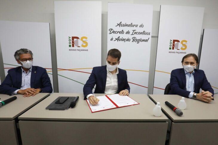 A medida atualiza um decreto de 2019 (Foto: Itamar Aguiar / Palácio Piratini)