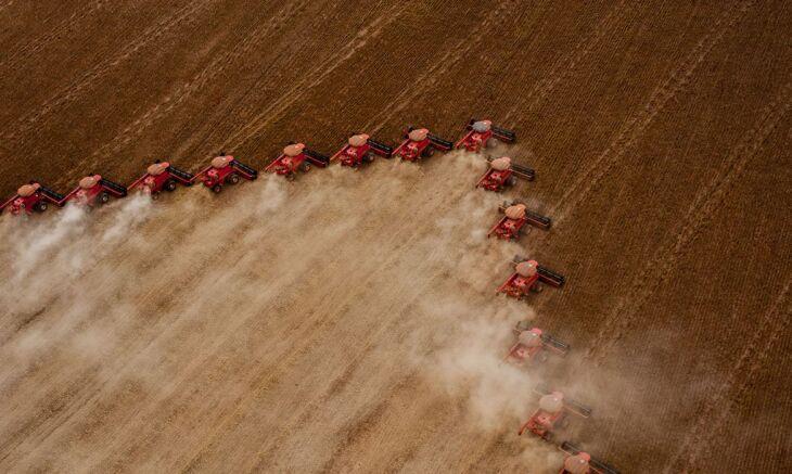 Área da soja em 2021 deve representar mais de 57% da área total utilizada para o plantio de grãos do país (Foto: José Medeiros/Sudeco)