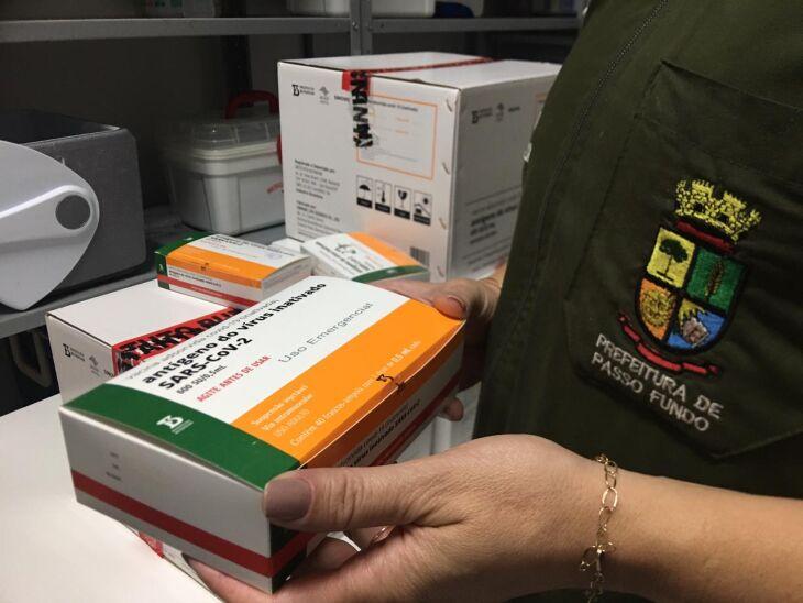 Quantitativo de doses será entregue aos hospitais