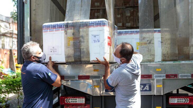 A entrega ocorreu neste domingo (24) (Foto: Gustavo Mansur/Divulgação)