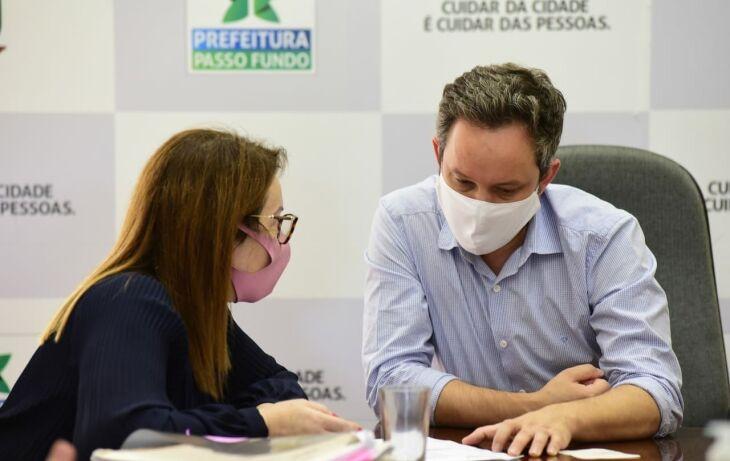 O Município dialoga a possibilidade de acelerar a ampliação do número de leitos de UTI (Foto: Diogo Zanatta/PMPF)