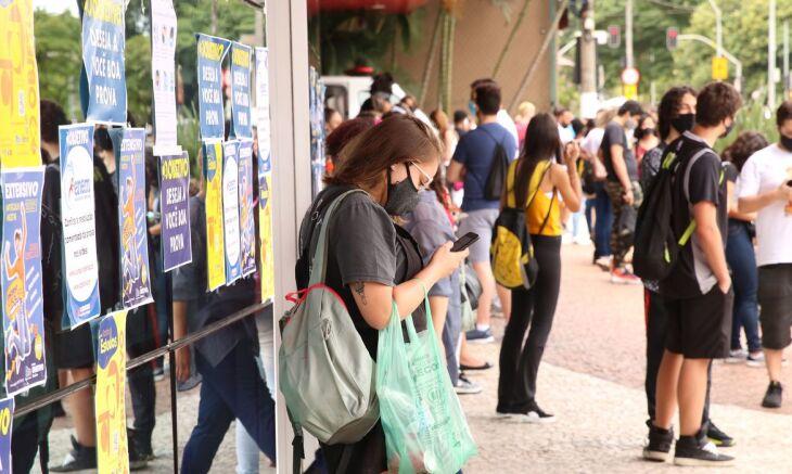 O cartão de confirmação está disponível na Página do Participante (Foto: Rovena Rosa/Agência Brasil)