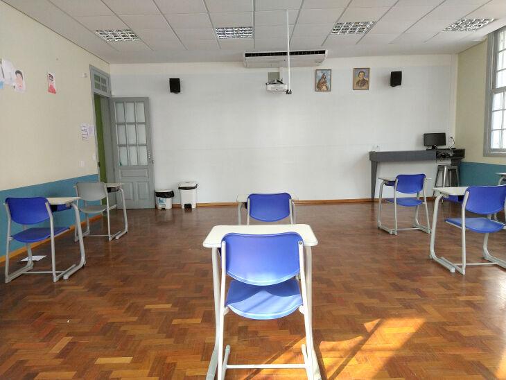 Retomada, conforme previsto, está embasada na segurança sanitária obtida nas escolas a partir de rigorosos protocolos sanitários (Foto: Arquivo/ON)