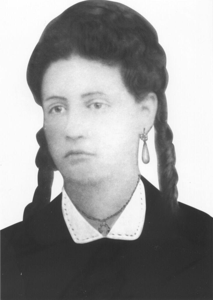 O primeiro registro de participação feminina, em Passo Fundo, é de Anna Theodora (Foto: Arquivo/IHPF)