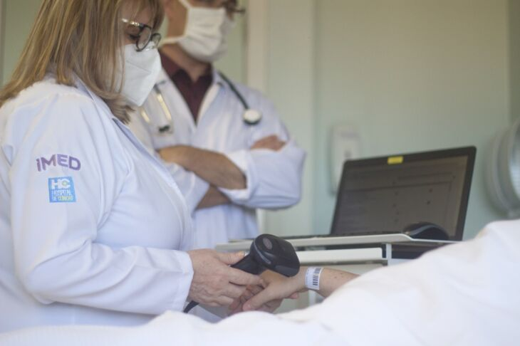 A instituição de saúde, que ocupa a 74ª posição, é a única do Norte do Estado a figurar no ranking (Foto: José Saurin/Imed)