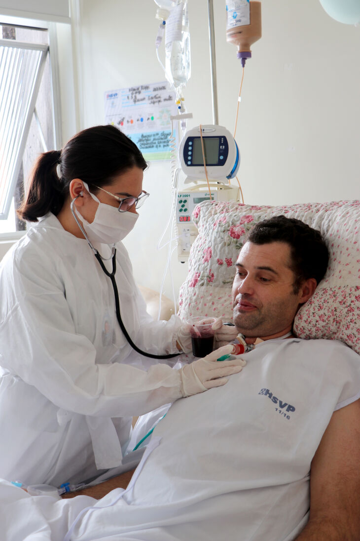Fonoaudiólogo: papel essencial na reabilitação de pacientes diagnosticados com disfagia (Foto: Scheila Zang/HSVP)