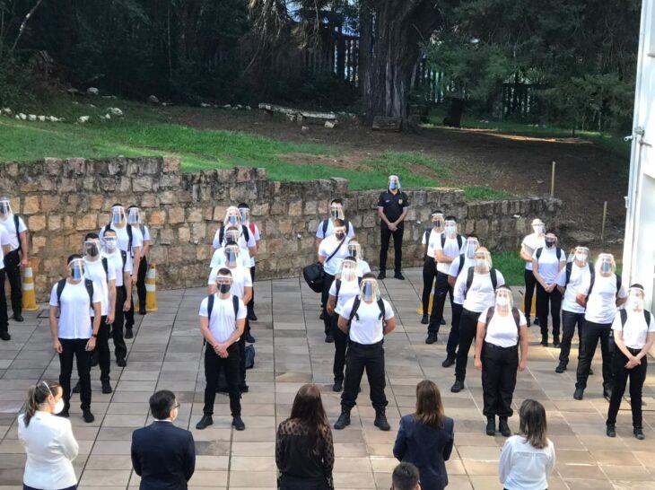 Aula inaugural da Policia Civil foi na Acadepol, onde ocorrerão a maior parte dos treinamentos (Foto: Grégori Bertó/Ascom SSP)