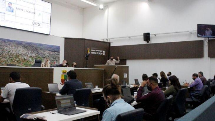 No total, 55 novas proposições foram protocoladas (Foto: Divulgação/CMPF)