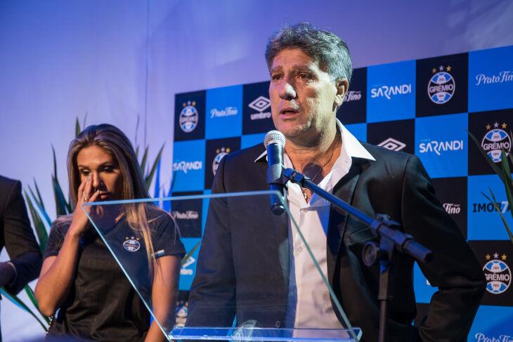 """Renato: """"O Grêmio me convoca. Sempre foi assim e sempre vai ser"""". Foto–Lucas Uebel-GFBPA"""