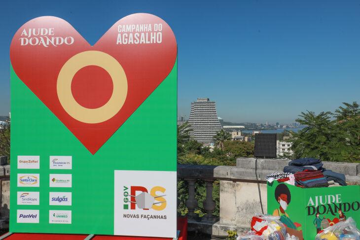 Na capital e no interior há diversos pontos de recolhimento das doações (Foto: Itamar Aguiar/Palácio Piratini)