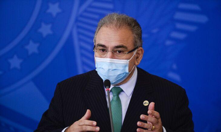 O ministro fez o anúncio durante cerimônia para anunciar o repasse de recursos para serviços de atenção primária à saúde (Foto: Marcelo Camargo/Arquivo Agência Brasil)