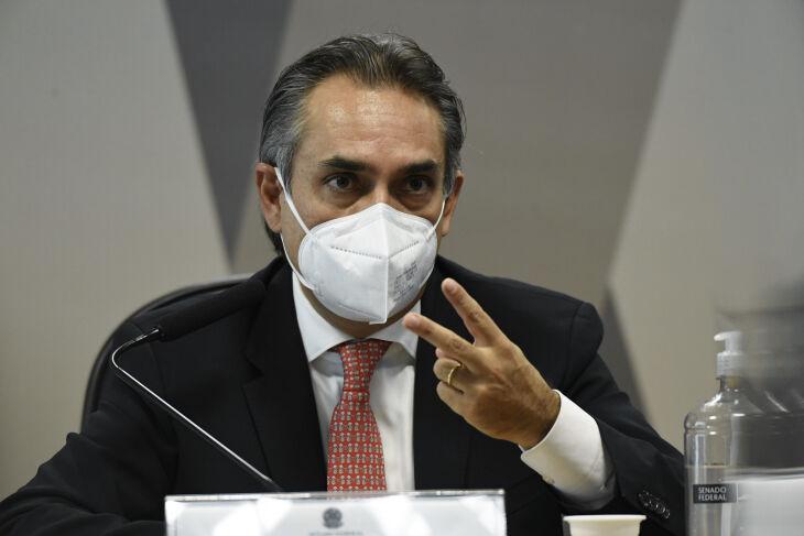 Carlos Murillo confirmou que carta da empresa ficou dois meses em resposta (Foto: Jefferson Rudy/Agência Senado)
