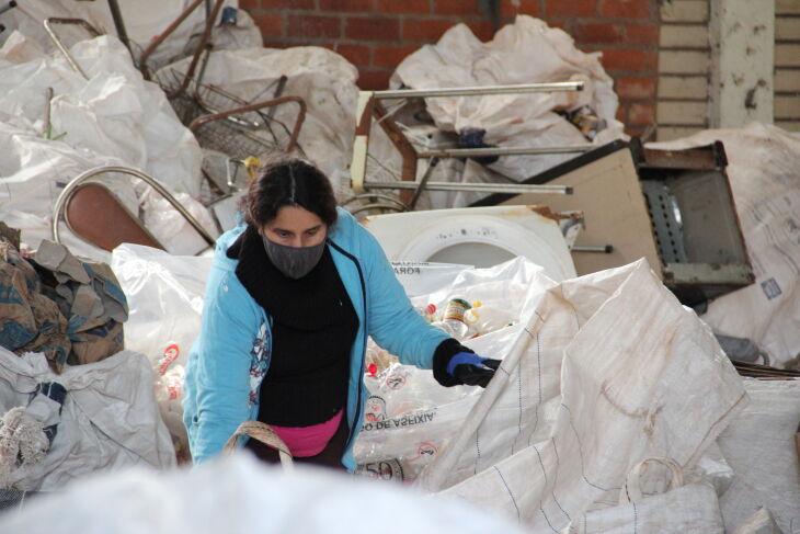 De janeiro até agora, o Ecoponto já recebeu mais de 5,3 toneladas de recicláveis (Fotos: Andressa Zorzetto/PMPF)