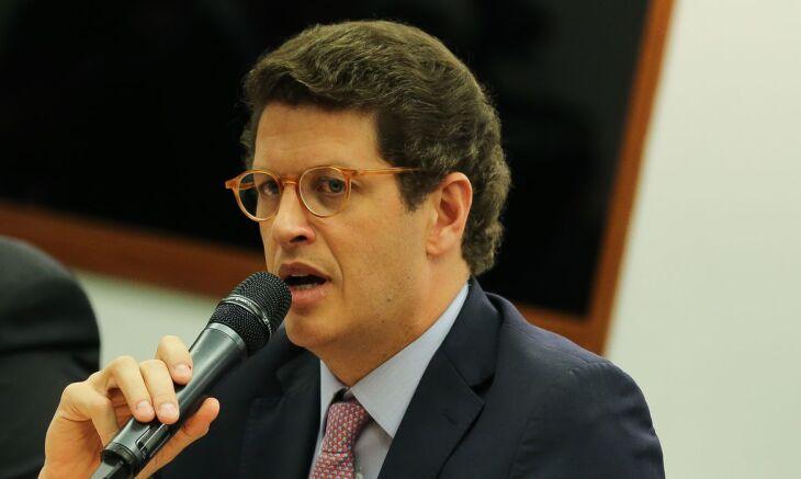 Salles confirmou que foram apreendidos documentos em seu gabinete (Foto: José Cruz/Arquivo/Agência Brasil)
