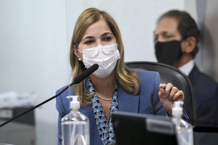 Mayra é a nona depoente da CPI(Foto: Jefferson Rudy/Agência Senado)